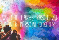 Welche Farbe hat deine Seele? Mach den Test auf gofeminin.de!