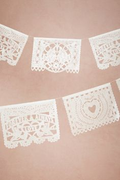 Jumbo Papel Picado from BHLDN- Allison's friend gets a discount
