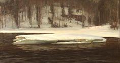 Victor Westerholm: Valley on the Kymi River, Finland Helene Schjerfbeck, Chur, Prinz Eugen, River, Painting, Google Search, Art, Finland, Sweden