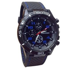 2015 Quartz Watch Men Military Watches Sport Wristwatch Silicone Fashion Hours