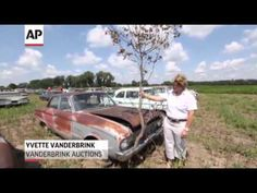 Classic Cars, Some Never Driven, Up for Auction - YouTube