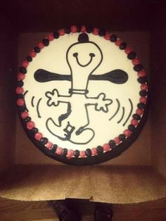 Snoopy cake!