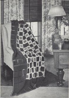 🌸 Crochê Folhas Flores Ponto Cruz Afegãos Padrão itens decorativos Criações Quadrado -  /  🌸 Crocheting Leaves Flowers  Afghan Default Cross Stitch Decorative Items Creations Square -