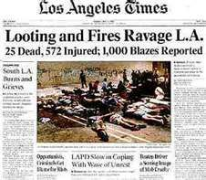 1992 - LA riots after Rodney King verdict History Class, World History, Rodney King, Jfk Jr, Newspaper Headlines, Remember The Time, Headline News, Personal History, Time Capsule