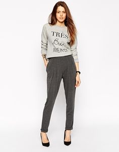 Enlarge ASOS Peg Trousers in Jersey