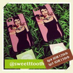 Audrey Hepburn for iphone 5, IDR130.000