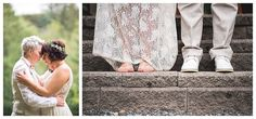 LEMBAS bride Sophia on her big day in her custom 14k layered necklace and barefoot sandals
