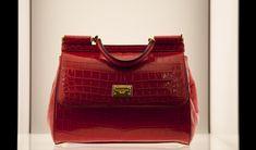 Dolce & Gabbana - Made-to-order: crocodile skin #dolcegabbana Sicily bag