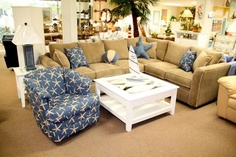Beach Living Room - Sleepers, Sectionals, Sofas, Loveseats, Chairs, & Ottomans