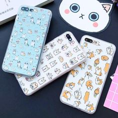 Funny Kitten and Shiba Iphone Case $17.00   #cutecat #kitty #catlover #mainecoon #kitten #meow #kittens #cat #kitties #cats Compatible iPhone Model: iPhone 6s,iPhone 5s,iPhone 6s plus,iphone 7 Plus,iPhone 6,iphone 7,iPhone 5Type: Half-wrapped CaseFunction: Dirt-resistant,Anti-knockRetail Package: NoDesign: Animal,Matte,PatternedFeatures: Fashion Lovely Cartoon Phone CaseSize: 4.7-5.5 inchCompatible Brand: Apple iPhonesPackage: with OPP bagFeature 1: Cartoon Cover CaseFeature 2: Fashion Phone…
