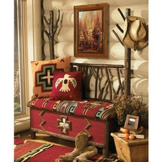 southwestern furniture and decor | Southwestern Furniture-Old Hickory Furniture-Rustic Ranch Style ...