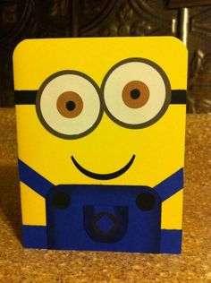 Minion Rush by Goodfridaymommy - Cards and Paper Crafts at Splitcoaststampers