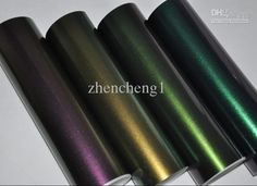 New Glossy Pearlescent Chameleon Carbon Fiber Vinyl Car Sticker Film 1.52M*30M, $392.68 | DHgate.com