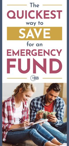 If you think an emergency fund is out of your reach, think again. These are the quickest ways we know to start building an emergency fund even if you've struggled with this over and over again, we can help get you started with ideas that actually work. Ways To Save Money, Money Saving Tips, How To Make Money, Living On A Budget, Family Budget, Navy Federal Credit Union, College Fund, Budgeting Money, Frugal Tips