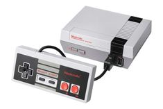 The ultimate gamer throwback, NES Classic is a plug-and-play miniature of the groundbreaking origina... - Courtesy of nintendo.com