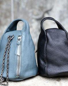 Handmade handbag purse leather crossbody bag purse shoulder bag for women