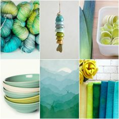 Mood Board Monday - a softer take on my Signature Palette — Tanis Fiber Arts Pantone, Tanis Fiber Arts, Aqua, Turquoise Color, Color Theory, Color Schemes, Color Combinations, Art Blog, Color Inspiration