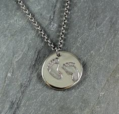 Tracks  Artisan Handcrafted Pendant Necklace