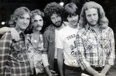 The Eagles: Joe Walsh, Glenn Frey, Don Henley, Randy Meisner, Don Felder