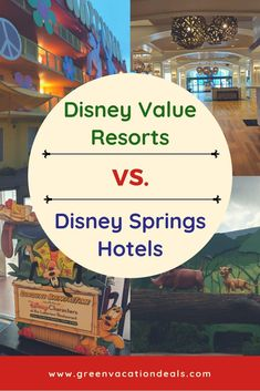 Find out where to stay on your next Walt Disney World vacation! You may be considering a Disney Value Resort or a Disney Springs hotel. Find out advantages of both Disney Value Resorts, Disney Hotels, Walt Disney World Vacations, Disney Trips, Disney World With Toddlers, Lake Buena Vista, Disney World Planning, Vacation Deals, Disney World Tips And Tricks