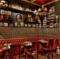 Kaper Design; Restaurant & Hospitality Design: The Dandelion Pub More