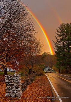 Fall Spofford Rainbow, New Hampshire, England