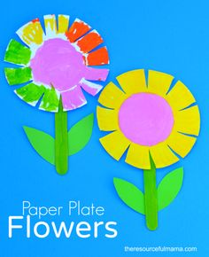 Paper Plate Flower Craft for Kids  sc 1 st  Pinterest & Paper Plate Sunflower Craft | Best Sunflower crafts and Fall ...
