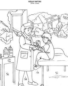 66 En Iyi Kizilay Haftasi Görüntüsü Day Care Kindergarten Ve