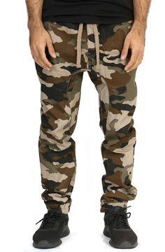 Drop Crotch Jogger in Desert Camo – Fashion X Freedom