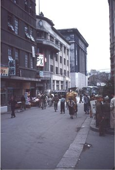 Seoul Central Post Office near View Korean War