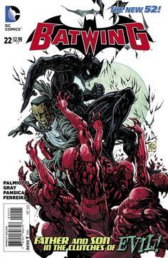 First look at DC Comics 'Batwing' #22
