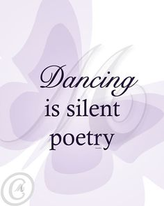 Dance is silent poetry!  Get some new dance attire or take some dance lessons at Loretta's in Keego Harbor, MI!  If you'd like more information just give us a call at (248) 738-9496 or visit our website www.lorettasdanceboutique.com!