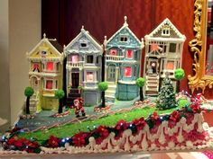 These Frosted Ladies | 20 Unbelievable Gingerbread Houses You'll Want To Live In