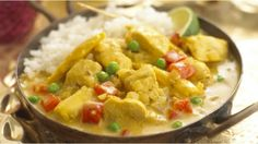 Fruity Chicken Korma - Delicious, mild and fruity curry. Toddler Meals, Kids Meals, Toddler Recipes, Toddler Food, Chicken Recipes For Toddlers, Korma Curry Paste, Chicken Korma Recipe, Childrens Meals, For Elise