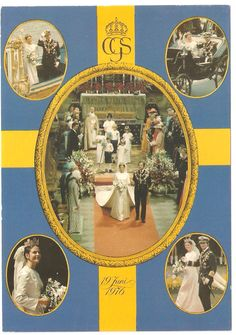 Wedding of King Carl XVI Gustaf and Queen Silvia