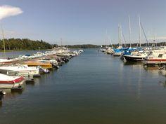 Strömsinlahden venesatama, Roihuvuori (Helsinki, Finland)