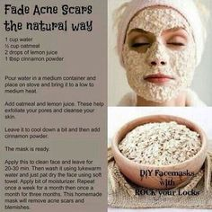 diy-oatmeal-acne-scar-fask-mask