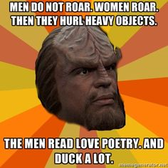 because Worf