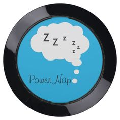 Funny Stupid Geeky Cool Humorous Unique Power Nap USB Charging Station