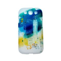 Samsung Galaxy S III Ultra-thin Hard Sided Sight Spots Painting Case with Retail Package