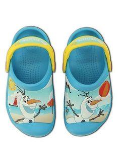 2b0fdce59faff1 OLAF Disney FROZEN Crocs - Girls Clogs size 12 13 kids BRAND NEW CHRISTMAS  GIFT