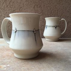 New mugs for the Swan Coach Gallery #SummerSwanInvitational opens June 4…