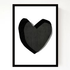 Layered Hearts A3 Print by Seventy Tree