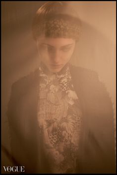 Jacket from DANIELA BARROS |IDISI| collection photo by Julia Blank for Vogue Italia