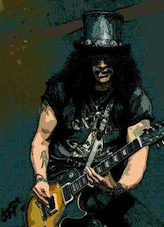Slash made by Pitsis Gio \m/