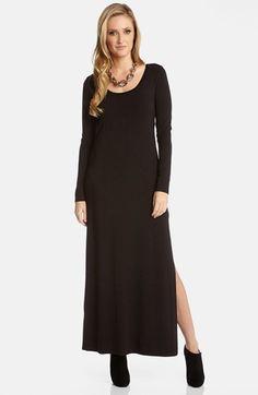 Karen Kane Long Sleeve Jersey Maxi Dress | Nordstrom