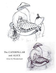 alice in wonderland characters images caterpillar - Google Search Alice In Wonderland Characters, Caterpillar, House Warming, Insects, Google Search, Image, Alice In Wonderland
