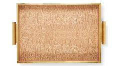 Aerin wood tray $350
