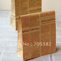Newspaper,32X18X7.5CM, Christmas & Festival paper gift bag, Free shipping (SS 917)-in Packaging Bags from Industry & Business on Aliexpress.com $21.70
