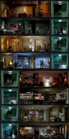 Looking through windows.... artistic voyeurism on HBO
